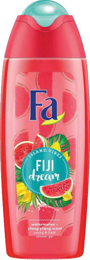 Gel za prhanje Fa, Fiji dream, 400ml