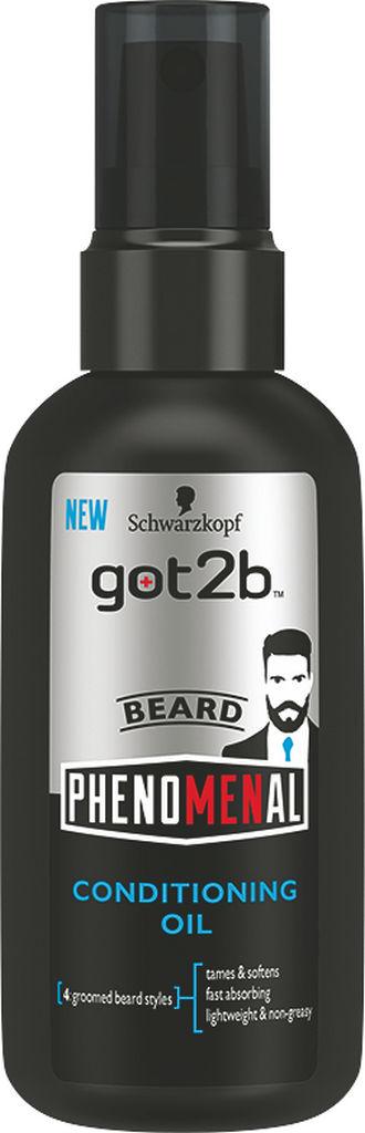 Olje za lase Got2b, Phenomenal beard oil, 75ml