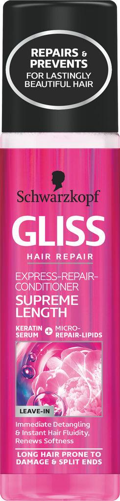 Regener. Gliss, Express Supreme length, 200 ml