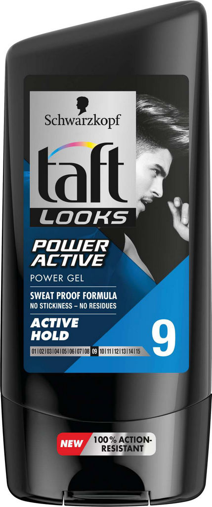 Gel Taft Power active, 150ml