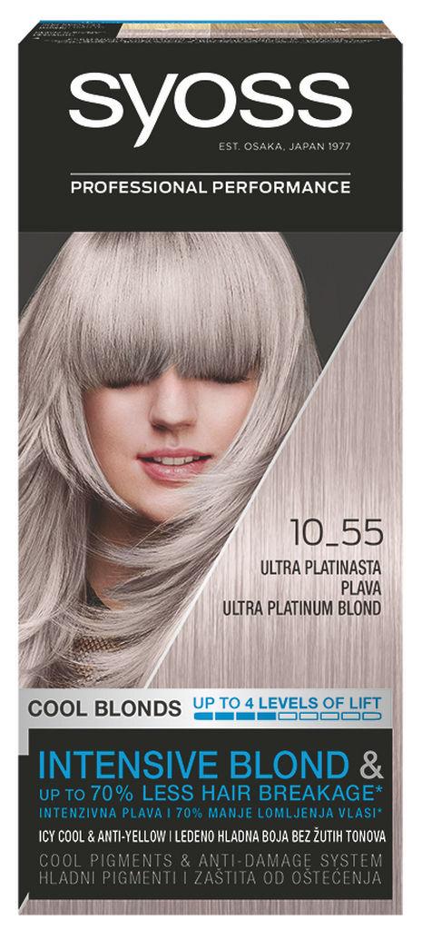 Barva Syoss Ashy 10-55