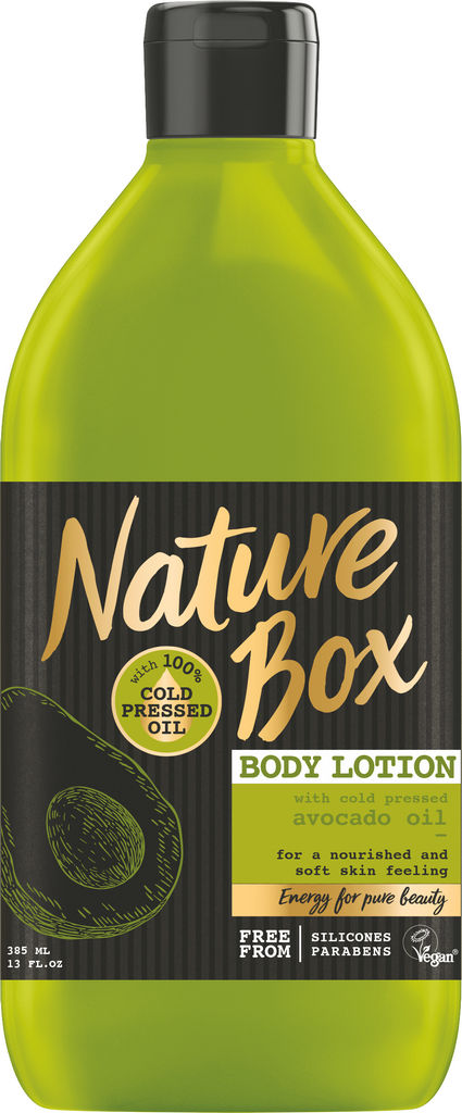 Losjon Nature Box, Avocado, 385 ml