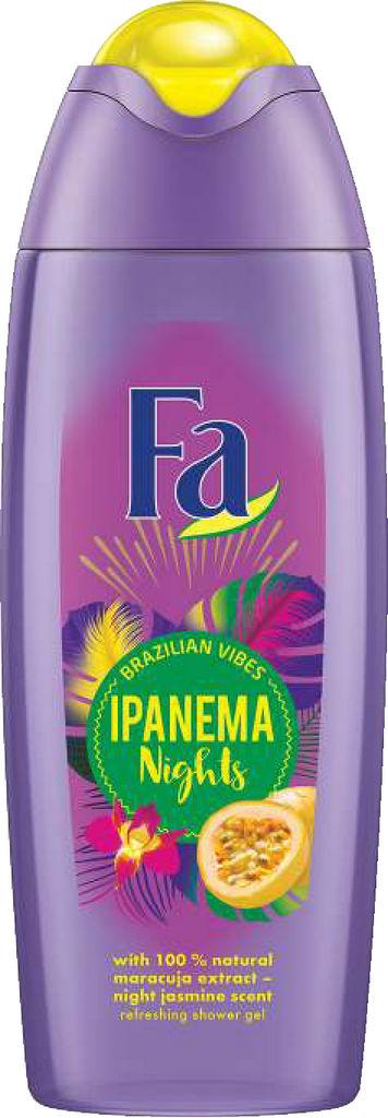 Gel za prhanje Fa, Ipanema nights, 400ml