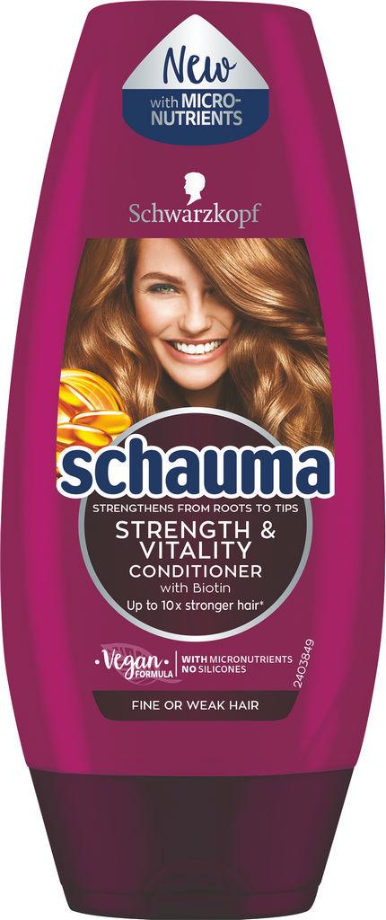 Regenerator Schauma, strenght&vitality, 200ml