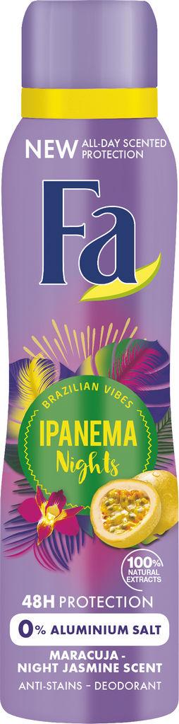 Dezodorant Fa, ženski, Ipanema nights, 150ml