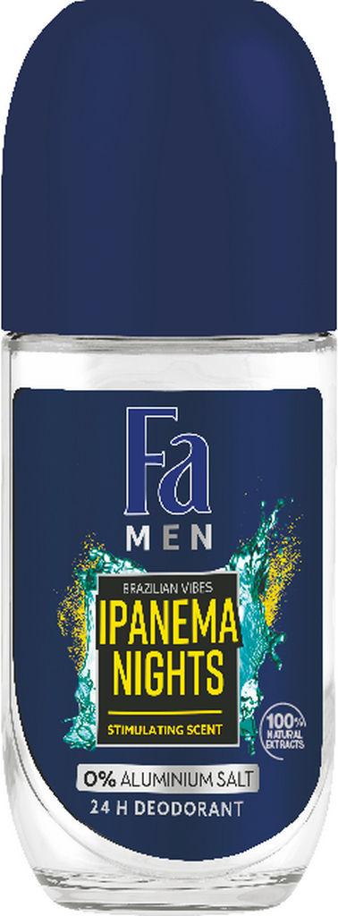 Roll-on Fa Men, Ipanema nights, 50ml