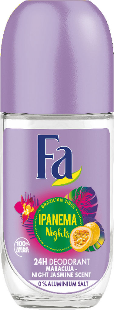 Roll-on Fa, žen., Ipanema nights, 50ml