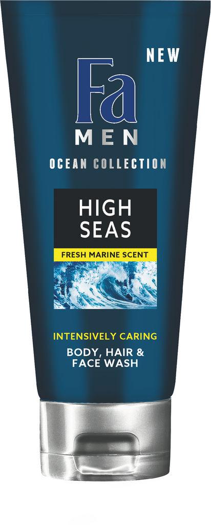 Gel za prhanje, Fa, men, High seas 3v1, 200ml