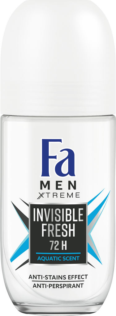 Deoroll-on Fa, Xtreme invisible fresh, 50ml