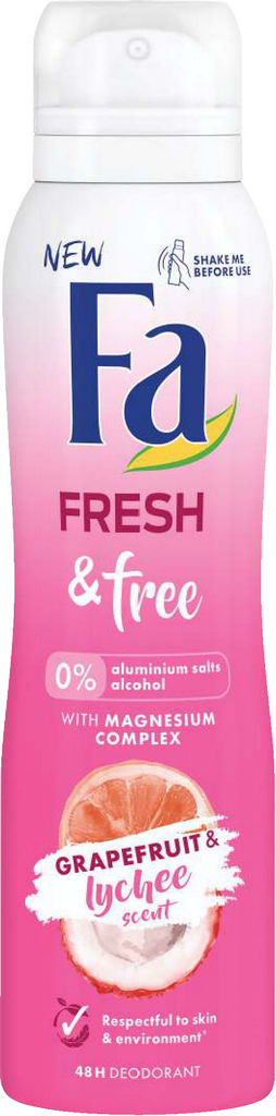 Dezodorant spray Fa, Grapefruit&lyche, 150ml