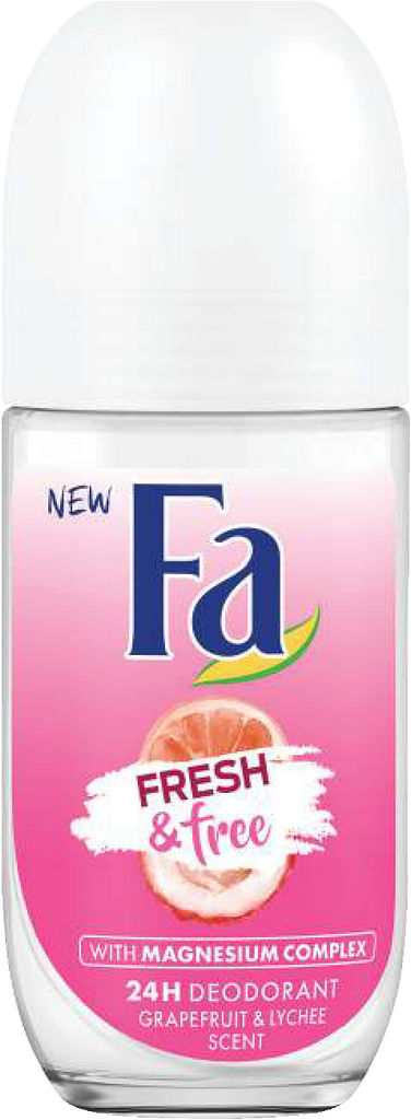 Deoroll-on Fa, Grapefruit&lychee, 50ml