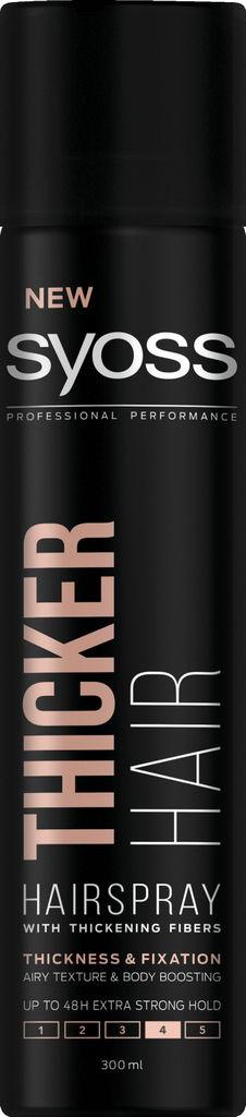 Lak za lase Syoss, Thicker hair, 300 ml