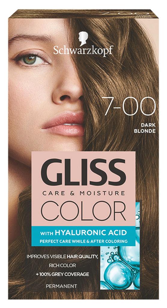 Barva za lase Gliss Color, 7 – 00 dark blond