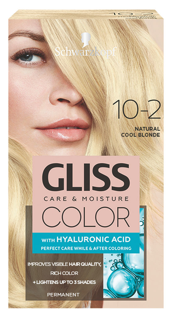 Barva za lase Gliss Color, 10 – 2 natural cool blond