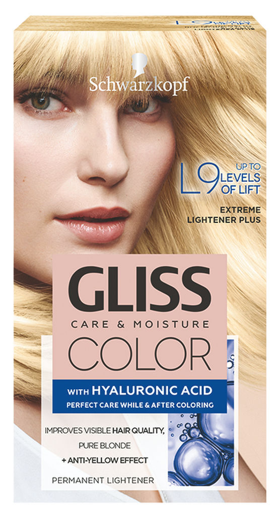 Barva za lase Gliss Color, L9 lightener