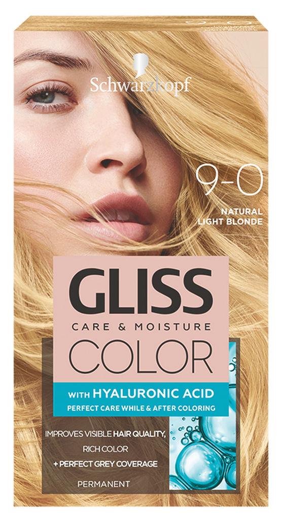 Barva za lase Gliss Color, 9 – 0 natural light blond