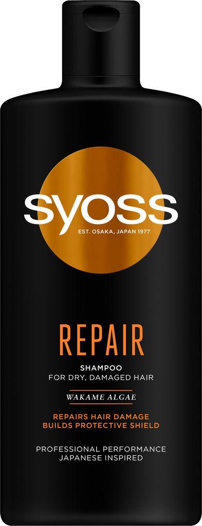 Šampon za lase Syoss Repair, 440 ml