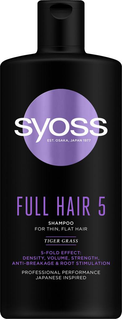 Šampon za lase Syoss Full Hair 5, 440 ml