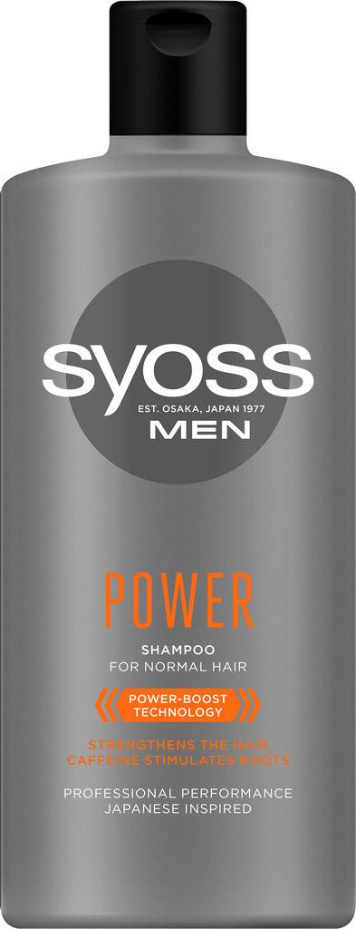 Šampon za lase Syoss Men Power, 440 ml