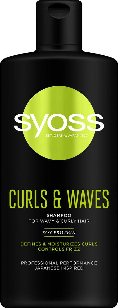 Šampon za lase Syoss Curl & Waves, 440 ml