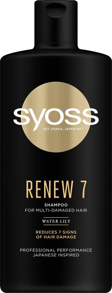 Šampon za lase Syoss Renew 7, 440 ml