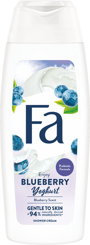 Gel za prhanje Fa, Blueberry Yoghurt, 250 ml