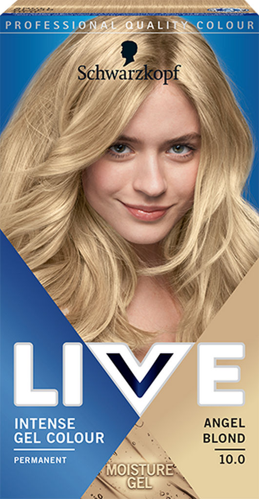 Barva za Lase Live, 10.0 Angelsko blond