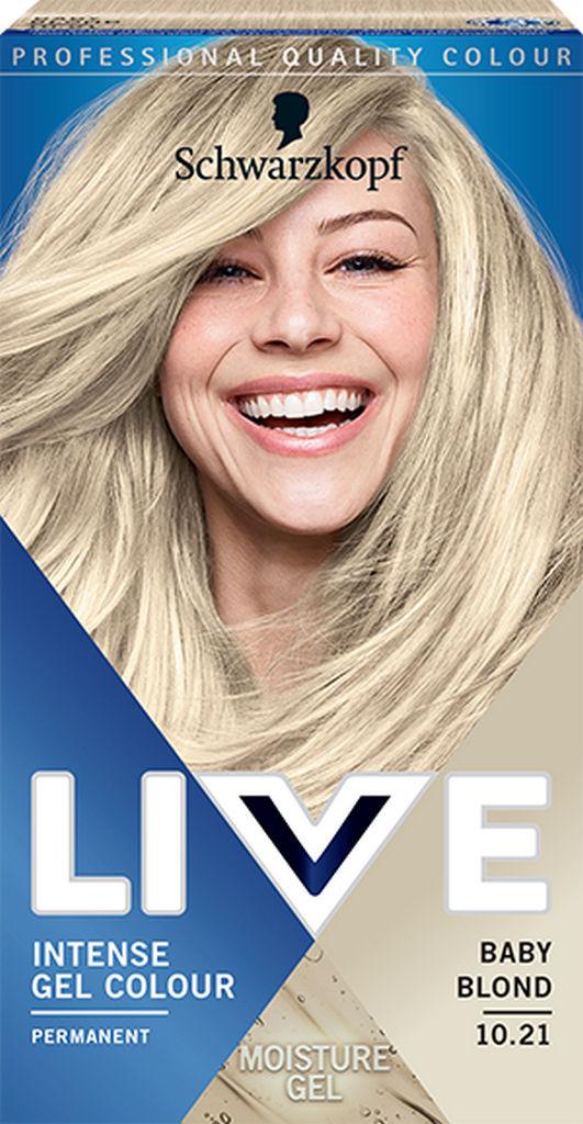 Barva za lase Live, 10.021 Baby blond