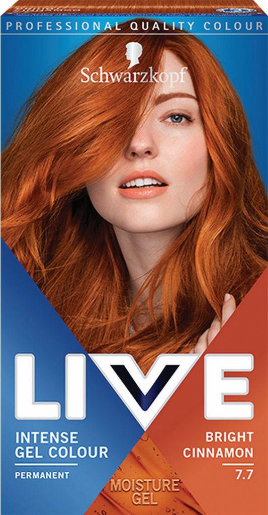 Barva za lase Live, 7.7 Cimet
