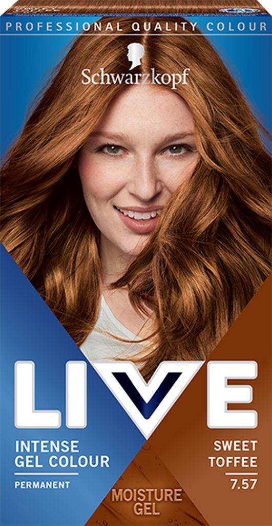 Barva za lase Live, 7.57 Sladki nougat