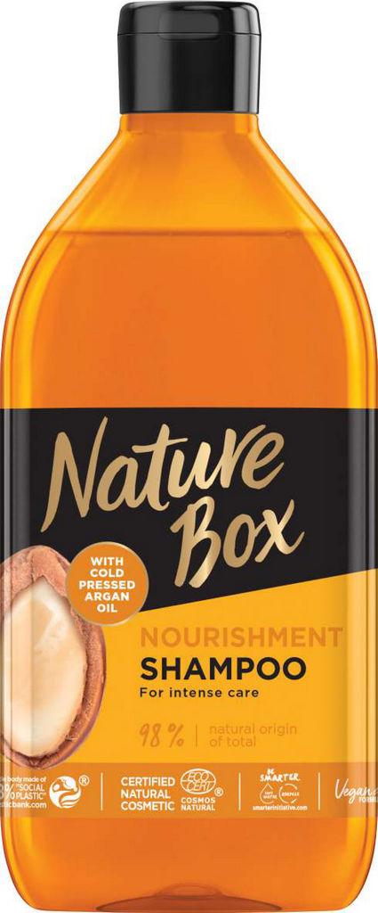 Šampon za lase Nature Box, argan, 385ml