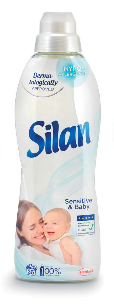 Mehčalec Silan, Sensitive, 900ml