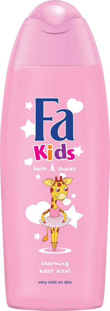 Gel za prhanje Fa Kids Giraffes, for girls, 250ml