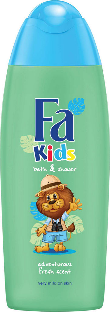 Gel za prhanje Fa Kids Limons, for boys, 250ml