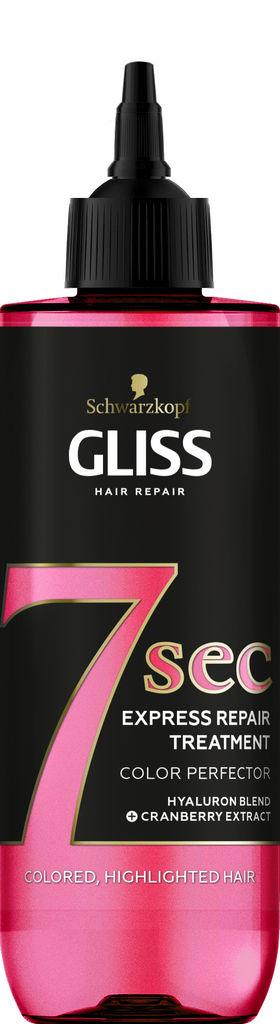 Tretma za lase Gliss, 7 min Color, 200 ml