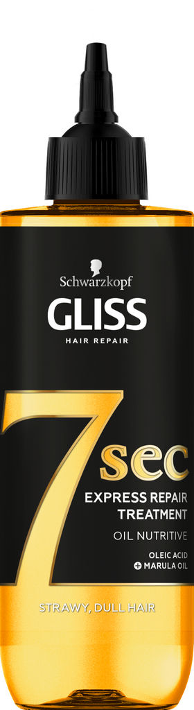 Tretma za lase Gliss, 7 sec. Oil Nutririve, 200 ml