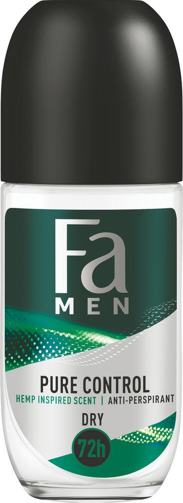 Dezodorant Fa, roll-on, Men Pure Relax, 50 ml