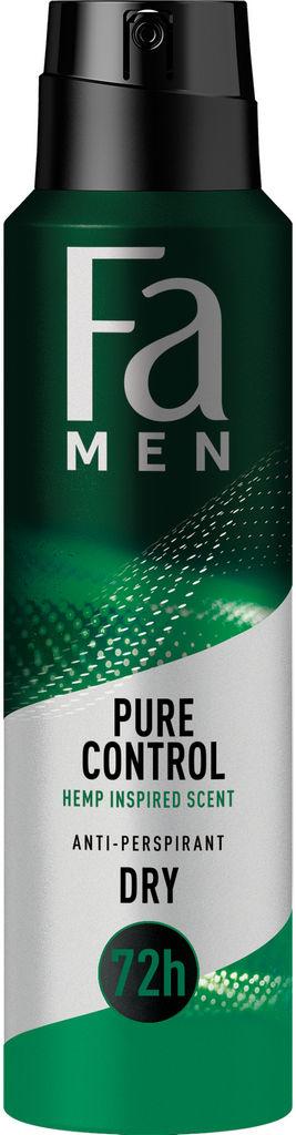 Dezodorant Fa spray, Men Pure Relax, 150 ml