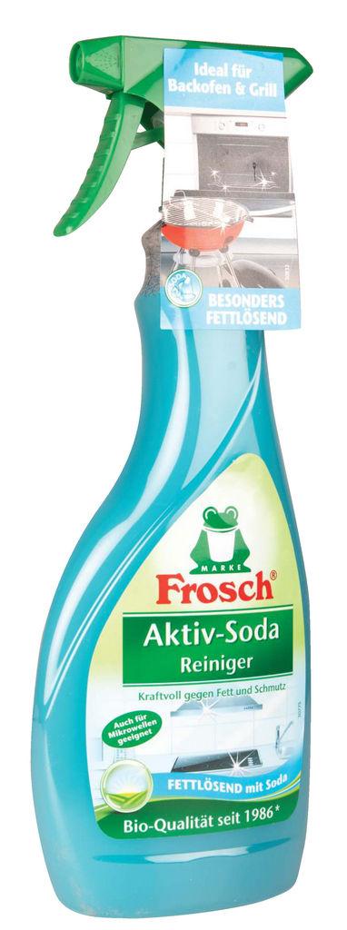 Čistilo Frosch, aktiv-soda, za kuhinjske površine, 500ml