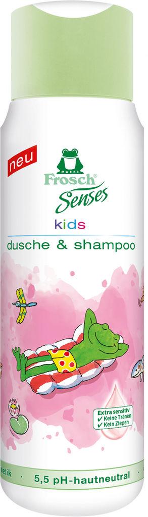 Gel Frosch, za tuširanje, otroški, Sensitive, 300 ml