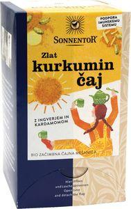 Čaj Bio kurkumin, zlat, 36g