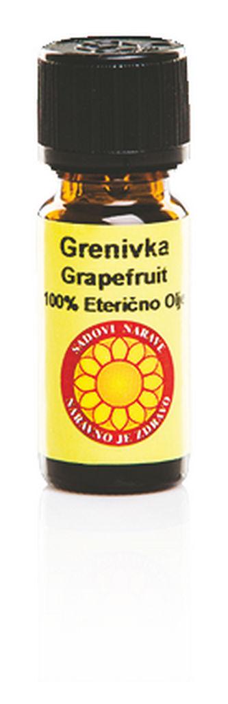 Olje eterično grapefruit, 10 ml