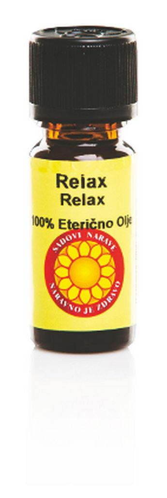 Olje eterično Relax, 10 ml