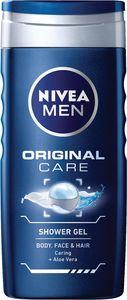 Gel za prhanje Nivea, men, original care, 250ml