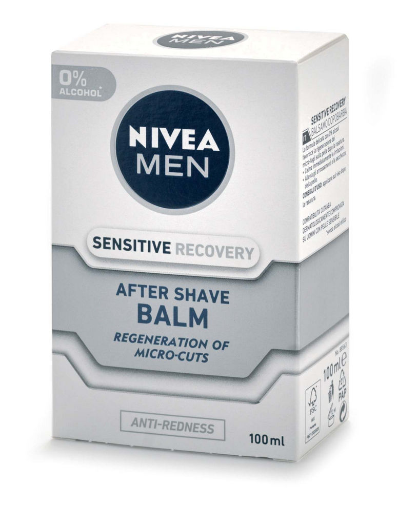 Balzam po britju Nivea men, Sensitive recovery, 100ml