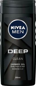 Gel za prhanje Nivea, men, Deep, 250ml