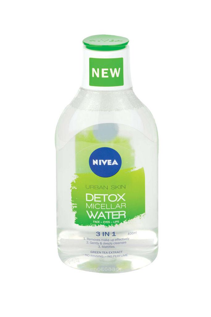 Micelarna voda Nivea, 3v1 Urban detox, 400ml