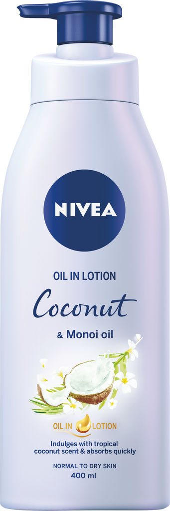 Oil losjon Nivea, Coc.Monoi, 400ml