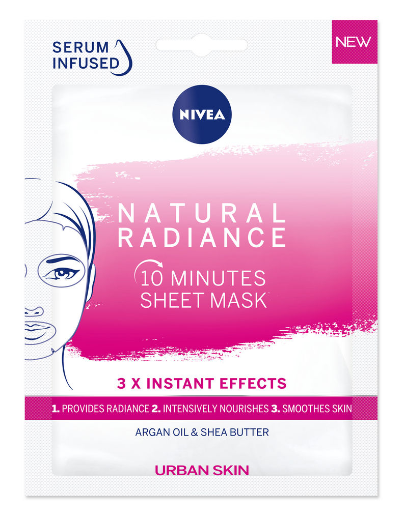 Maska Nivea Sheet, Urban radiance