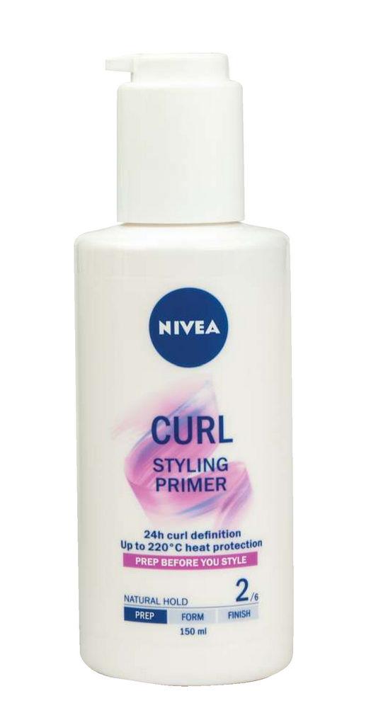 Sprej Nivea, Curl styling primer za lase, 150ml
